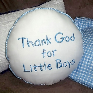 Thank-God-for-Little-Boys-Pillow-Round-Boy-front.jpg