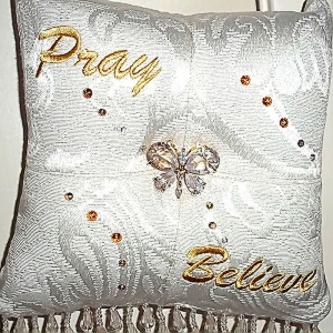 Pray-Believe-Scented-Sachet-Pillow-White-with-Gold-front.jpg