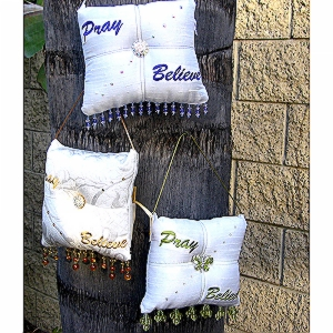 Pray-Believe-Scented-Sachet-Pillow-White-with-Purple-group-pic.jpg
