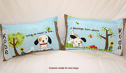 Custom Boys Pillows - Boys Pillows